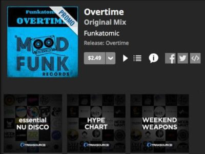 overtime funkatomic chart